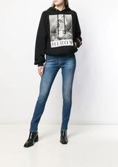 Diesel super skinny faded jeans
