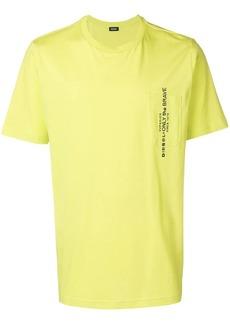 Diesel Superior print pocket T-shirt