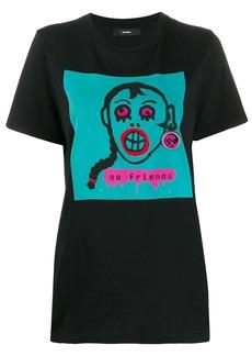 Diesel T-Daria-K embroidered T-shirt