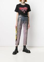 Diesel T-Daria-YC doodle print T-shirt