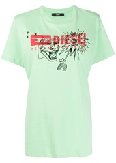 Diesel T-Daria-Yc logo T-shirt