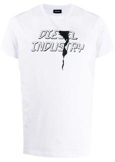 Diesel T-Diego-J25 Industry print T-shirt