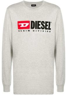 Diesel T-Just-LS-Division cotton T-shirt