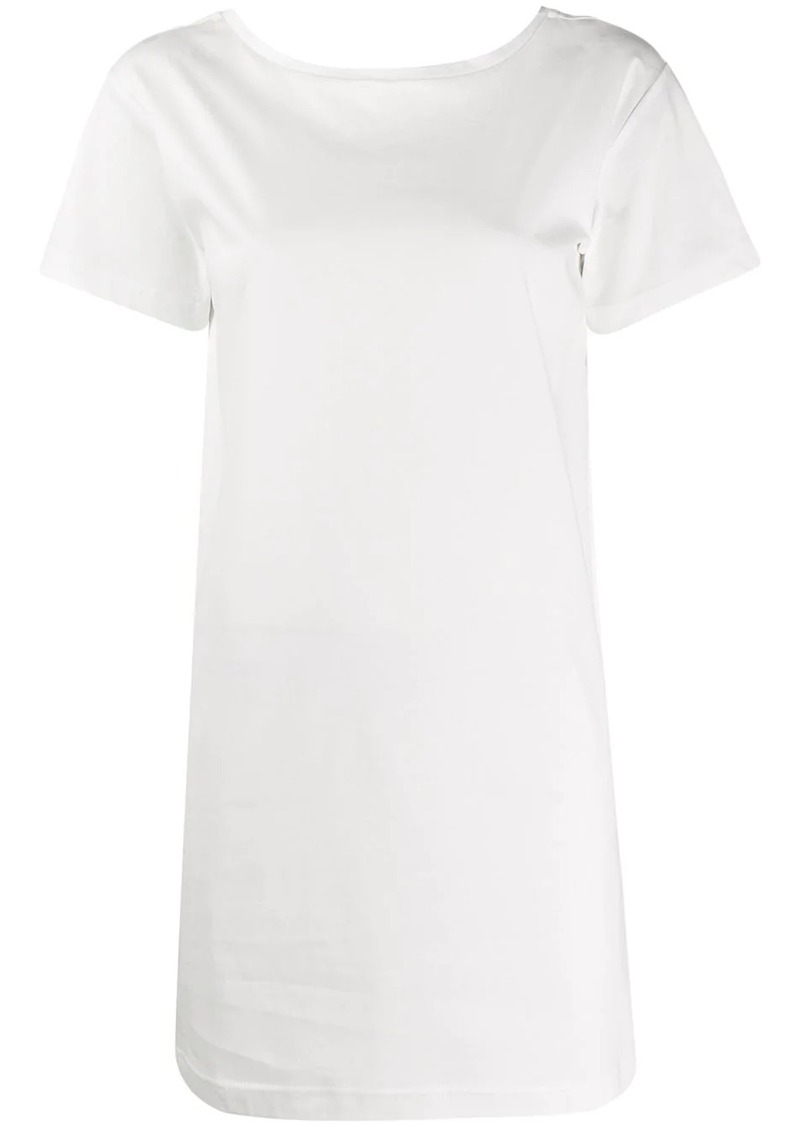 Diesel tape detail T-shirt dress