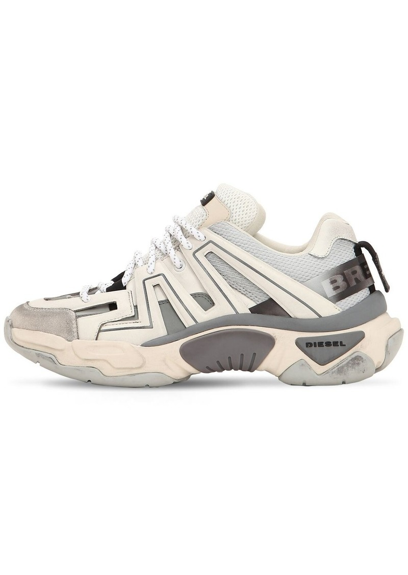 Diesel Techno & Leather Sneakers