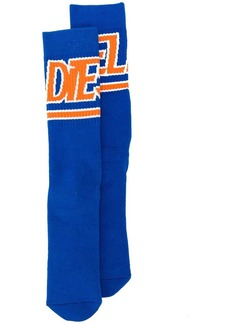 Diesel Terry socks with jacquard logo