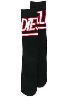 Diesel Terry socks with jacquard logo