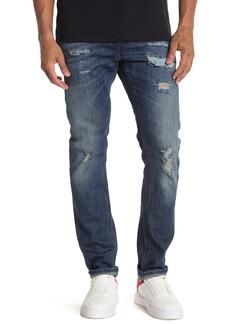 Diesel Thommer Distressed Slim Skinny Jeans