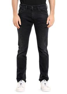 Diesel Thommer Slim-Fit Distressed Jeans