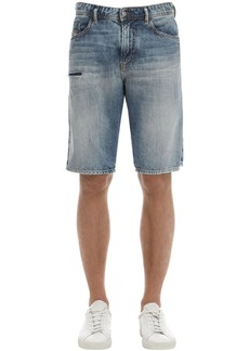 Diesel Thoshort Cotton Denim Shorts