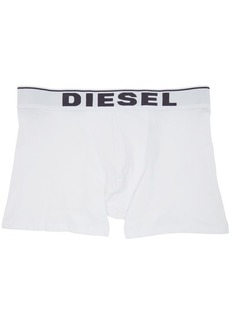 Diesel Three-Pack Black & White UMBM Sebastian Boxer Briefs