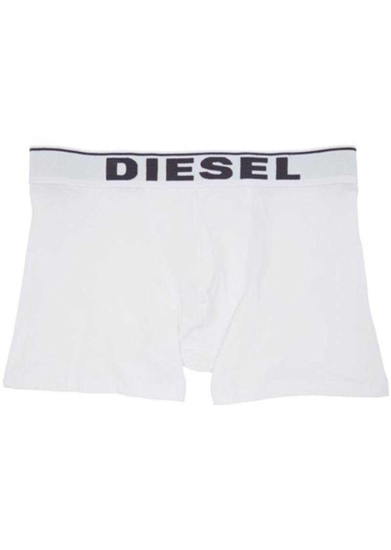 Diesel Three-Pack Black & White UMBM Sebastian Boxer Briefs