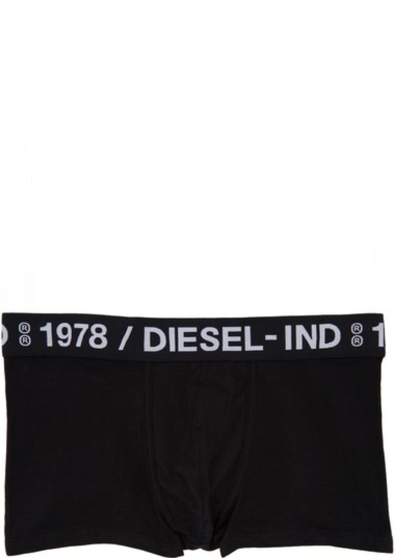 Diesel Three-Pack Black UMBM Damien Boxer Briefs