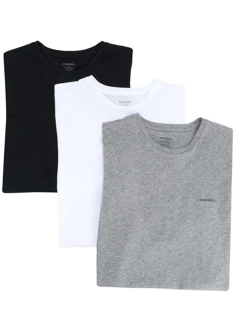Diesel three-pack logo T-shirt