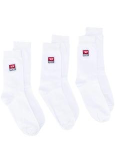 Diesel three-pack of logo socks