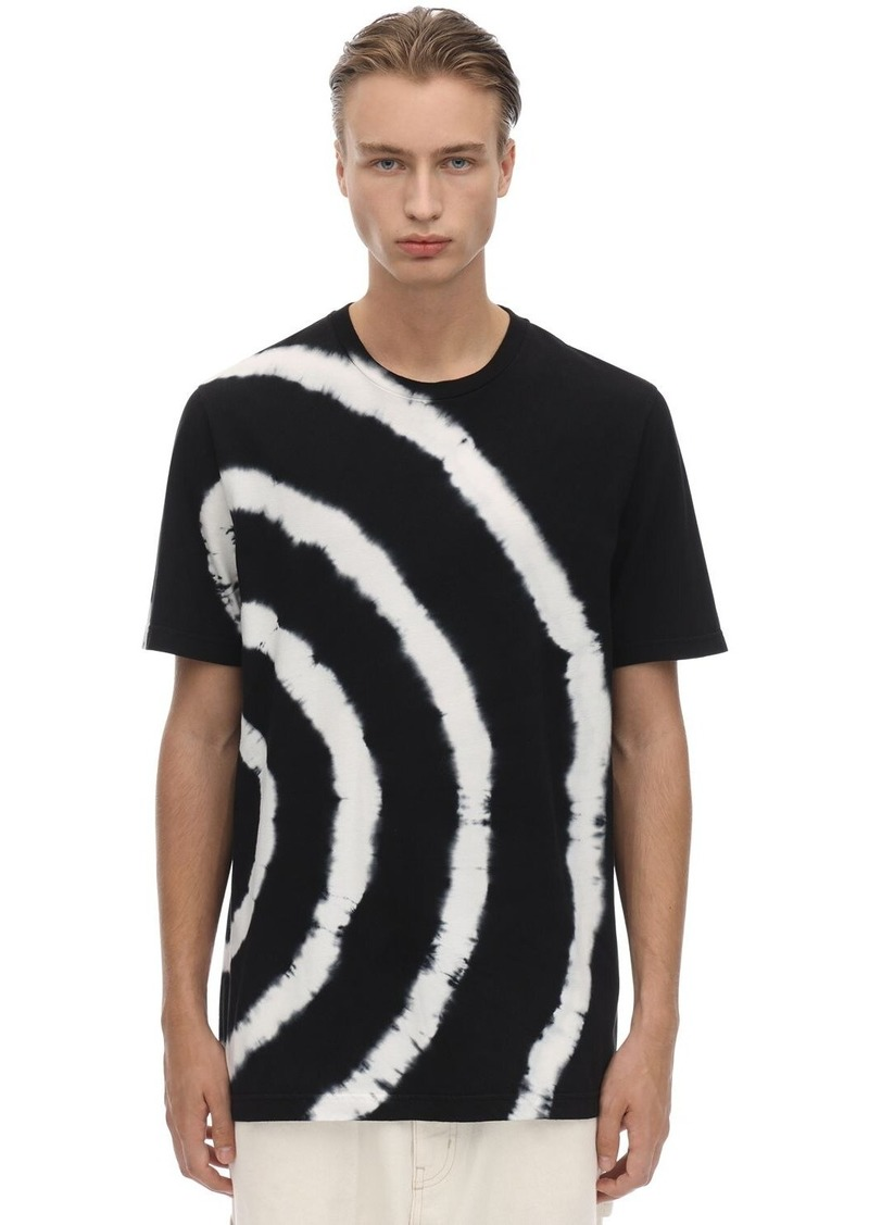 Diesel Tie Dye Cotton Jersey T-shirt