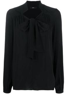 Diesel tied neck blouse