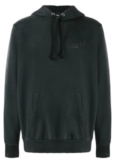 Diesel treated distressed hoodie