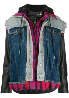 Diesel triple effect biker jacket