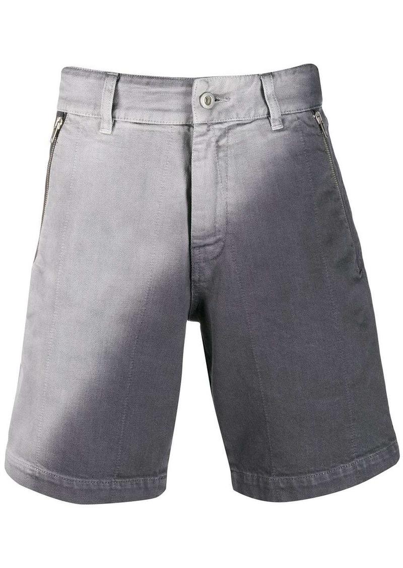 Diesel Two-tone denim shorts