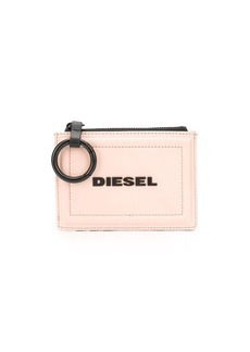 Diesel two tone keychain purse
