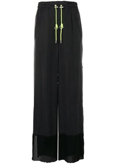 Diesel utility style palazzo trousers