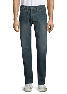 Diesel Viker Cotton Straight Leg Jeans