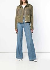 Diesel vintage-effect bootcut jeans
