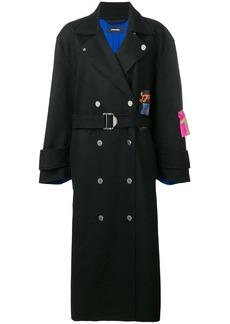 Diesel W-Myrke midi coat