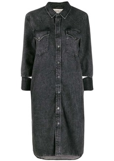 Diesel western denim dress
