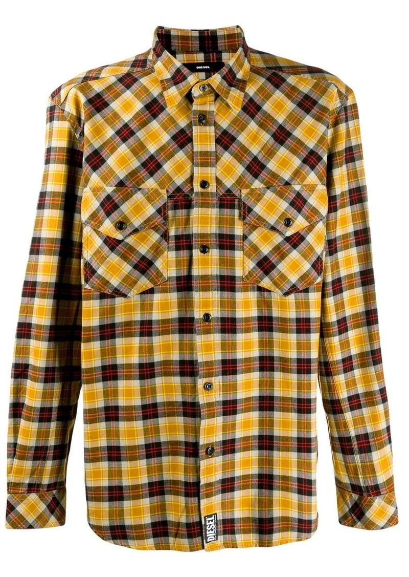 Diesel Western shirt in yarn dyed check