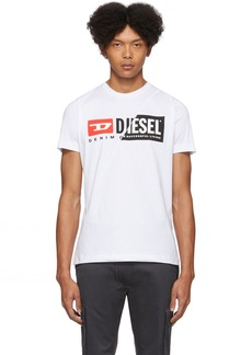 Diesel White Diego-Cuty T-Shirt