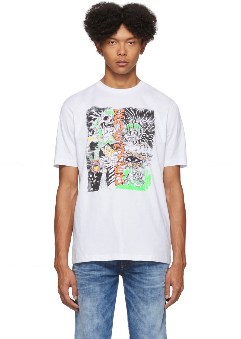 Diesel White T-Just-J13 T-Shirt