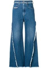 Diesel wide leg jeans