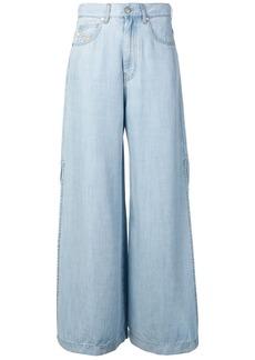 Diesel wide-legged jeans