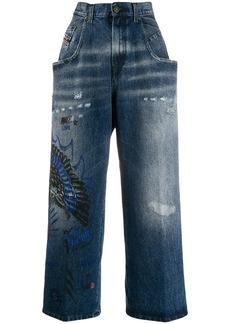 Diesel Widee wide-leg jeans