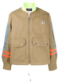 Diesel work-wear bomber jacket