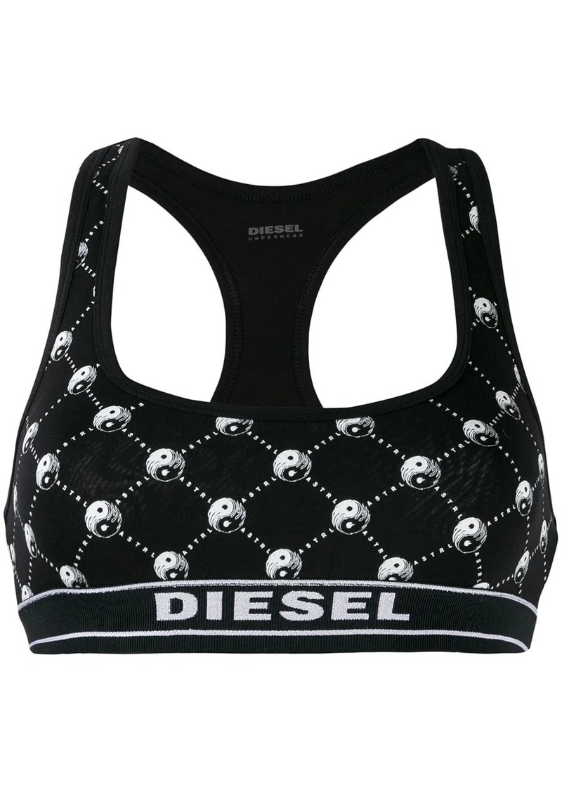 Diesel Yin Yang cropped top