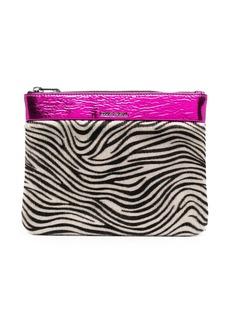Diesel zebra-print wallet