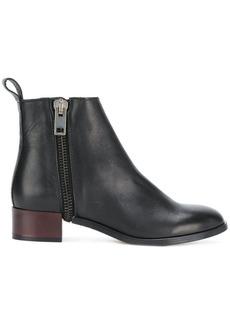 Diesel zip ankle boots