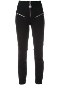 Diesel zip-detail skinny trousers