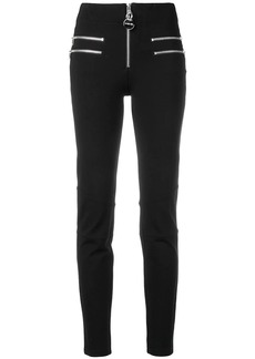 Diesel zip-embellished skinny trousers