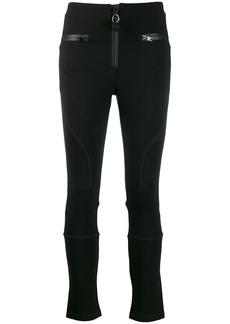 Diesel zip trim skinny trousers