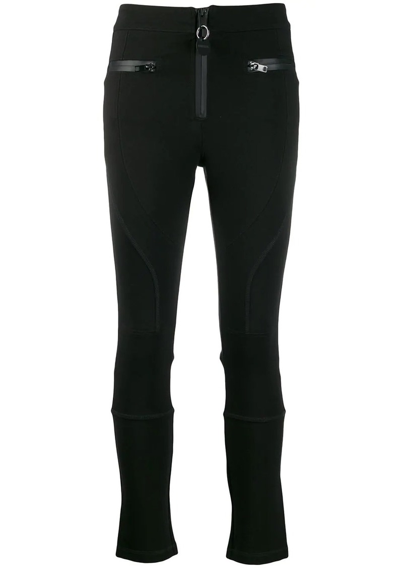 Diesel zip trim skinny trousers