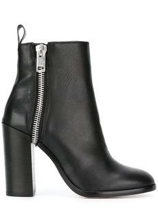 Diesel zip up boots