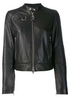 Diesel zipped biker jacket