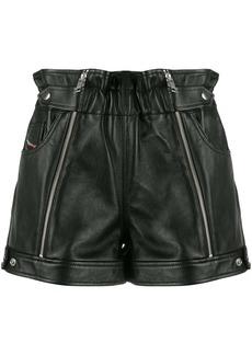 Diesel zipped biker shorts