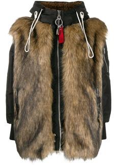 Diesel zipped contrast jacket