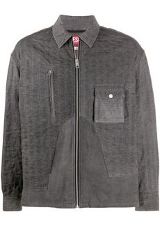 Diesel zipped front shirt
