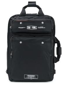 Diesel zipped tote bag
